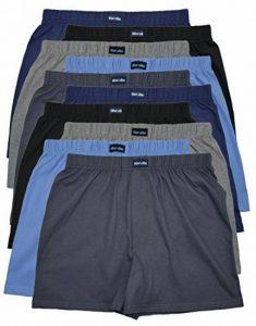 10 Boxer en classique Couleurs principales - Décontracté& doux sous-vêtements Short boxeur 100% coton de 10 Spar paquet garçons un m l xl 2xl 3xl 4xl de la marque MioRalini image 0 produit