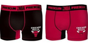 2 x Boxer CHICAGO BULLS - Collection officielle NBA - Taille adulte homme de la marque NBA image 0 produit