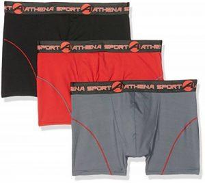 Athena Training, Boxer Homme (lot de 3) de la marque Athena image 0 produit