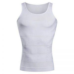 Baron Hong veste chemise gynécomastie compression pour cacher seins homme shapewear minceur Moobs hommes Aplatir entier Abdomen de la marque BaronHong image 0 produit