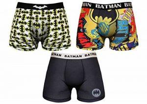 Batman Boxer Homme Marvel 95% Polyester 5% Elasthane de la marque Batman image 0 produit