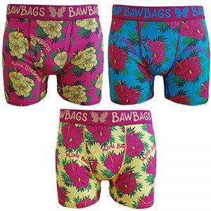 BawBags Lot de 3 Boxers-Aloha de la marque Bawbags image 0 produit
