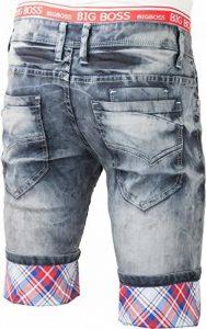 bermuda jeans homme ceinture boxer revers relevable - pantacourt jeans fashion pour homme ptc2016box de la marque Jaylvis image 0 produit