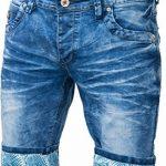 bermuda jeans homme ceinture boxer revers relevable - pantacourt jeans fashion pour homme ptc2016box de la marque Jaylvis image 1 produit