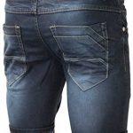 bermuda jeans homme ceinture boxer revers relevable - pantacourt jeans fashion pour homme ptc2016box de la marque Jaylvis image 2 produit
