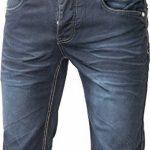 bermuda jeans homme ceinture boxer revers relevable - pantacourt jeans fashion pour homme ptc2016box de la marque Jaylvis image 4 produit