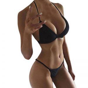 Bikini Maillot De Bain Dos Nu Bra Sexy 2 Pièce Lolittas Bustier Deux Morceaux Baignade Push-Up Tenue De Plage BohéMien Pour Femme de la marque Loiitas image 0 produit
