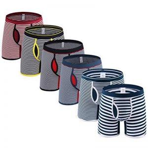 Binhee 6 Pack Hommes Sans Couture Shorts Adultes Coton Boxer Sous-Vêtements de la marque Binhee image 0 produit