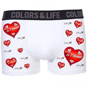 Boxer caleçon homme Amour Coeur Je t'aime de la marque magique cadeau image 0 produit