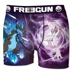 Boxer Freegun Enfant POKEMON Mega-Dracaufeu X VS Mewtwo de la marque Freegun image 0 produit
