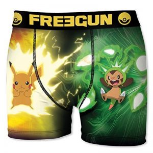 Boxer Freegun Enfant POKEMON Pikachu VS Marisson de la marque Freegun image 0 produit