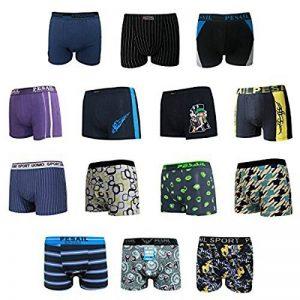 Boxers caleçons respirables en coton pour hommes - sous vêtements Mix Couleur/Style - Lot de 5-7 de la marque Topgoods2016 image 0 produit
