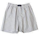 BRUBAKER lot de 6 Boxer-short hommes boxer shorts tissu caleçons en coton - peu froissable - rouge et tons de bleu M de la marque BRUBAKER image 4 produit