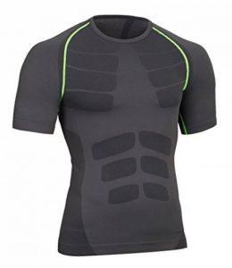 Bwiv haut thermique homme manches courtes t shirt compression léger de la marque Bwiv image 0 produit