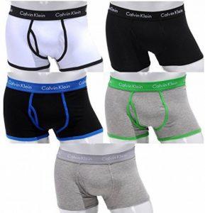 Calvin Klein 365 - Boxer en coton pour hommes taille basse - Lot de 5 - Tailles: S(4) - M(5) - L(6) - XL(7) - Nouveau de la marque Calvin Klein image 0 produit