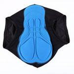 CHIC-CHIC Caleçon de CyclismeUnisexe (hommes / femmes) sueur absorbant volatilité Séchage Rapide Gel 3D rembourré de vélos Cyclisme Sous-vêtements Sport Shorts Pant de la marque De feuilles image 3 produit