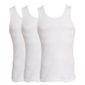 Débardeurs sous-vêtements légers 100% coton (lot de 3) - Homme de la marque Textiles Universels image 0 produit