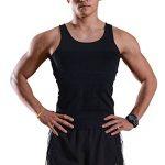 Débardeur gainant - IMAGE T-Shirt amincissant - Sous-Vêtements masculins pour Hommes - Gilet pour perdre du Poids Ventre & Reins avec Couture fort de haute Qualité de la marque Image image 1 produit