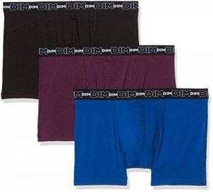 Dim Coton Stretch - Boxer - Uni - Lot de 3 - Homme de la marque Dim image 0 produit