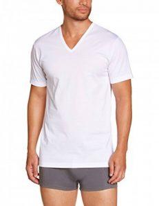 Eminence T-Shirt Manches Courtes Col V - Maillot de Corps - Uni - Homme de la marque Eminence image 0 produit