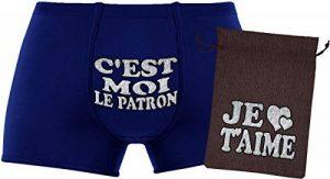 Ensemble cadeau - C'est moi le patron - Les boxers pour hommes de la marque Herr Plavkin image 0 produit