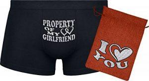 Ensemble cadeau - Property of my Girlfriend - Les boxers pour hommes de la marque Herr Plavkin image 0 produit