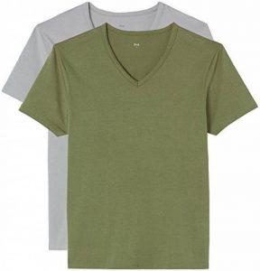FIND Shirt Col V Homme (Lot DE 2) de la marque FIND image 0 produit