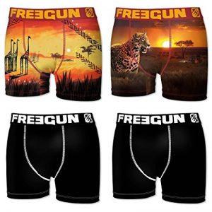 Freegun Boxer, Shorty Homme (lot de 4) de la marque Freegun image 0 produit