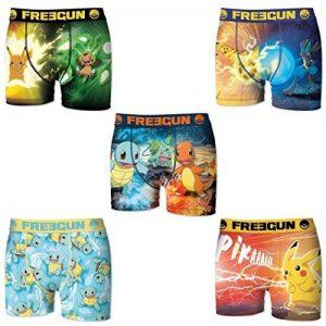 Freegun - Lot de 5 boxers homme Pokemon de la marque Freegun image 0 produit