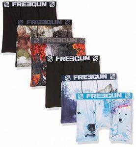 Freegun, Slip Homme (lot de 6) de la marque Freegun image 0 produit