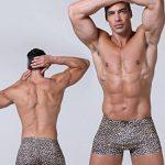 GLACE SOIE Sexy Taille Basse Boxer pour Homme Lisse Mince Respirant Basique de la marque WANYING image 2 produit