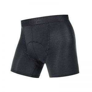 GORE BIKE WEAR Homme Sous-vêtement, Boxer short, Respirant, GORE Selected Fabrics, BASE LAYER Boxer Shorts+, Taille S, Noir, UBOXER990003 de la marque Gore image 0 produit