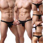 GuangmingXi Sous-Vêtement Homme Strings Tanga Classic T-back Slip Lot de 4 de la marque Guangmingxi image 1 produit