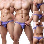 GuangmingXi Sous-Vêtement Homme Strings Tanga Classic T-back Slip Lot de 4 de la marque Guangmingxi image 2 produit