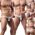 GuangmingXi Sous-Vêtement Homme Strings Tanga Classic T-back Slip Lot de 4 de la marque Guangmingxi image 3 produit