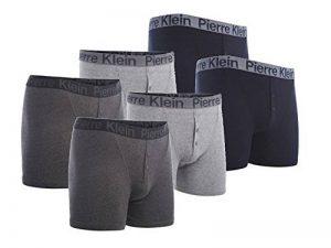 HDUK TM Mens Underwear - Boxer - Homme Noir Noir de la marque HDUK TM Mens Underwear image 0 produit