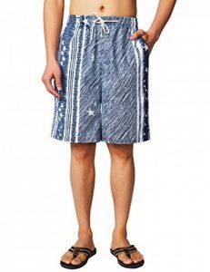 HEMOON Short Hommes Modernes Nager avec Motif Floral Short De Bain Casual Shorts Pantalon Court de la marque HEMOON image 0 produit
