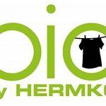 HERMKO 3248 Lot de 5 slips homme avec ouverture double côte coton bio de la marque HERMKO image 3 produit