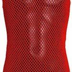 Homme 100 % coton, filet réseaux installation string vest de la marque Crystal image 3 produit