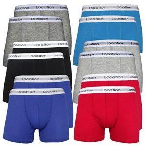 Homme Boxer Lot Pack De 12 Hommes Boxeur Short Cadeau Sous-Vêtements Caleçons De Coton Nouveauté de la marque Location image 0 produit