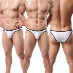 Homme String Slip Triangle Sous-vêtement Sexy Modal Bikini Briefs Basic Lot de 6 de la marque YFD image 4 produit