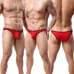 Homme String Slip Triangle Sous-vêtement Sexy Modal Bikini Briefs Basic Lot de 6 de la marque YFD image 2 produit