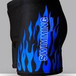 Hosaire Maillot de bain boxer homme à motif flamme de la marque Hosaire image 1 produit