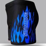Hosaire Maillot de bain boxer homme à motif flamme de la marque Hosaire image 3 produit