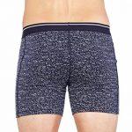 Icebreaker Anatomica Boxers sous-Vêtement Homme, Cobalt/Capri/Stripe, x-Large de la marque Icebreaker image 2 produit