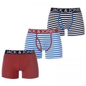 Jack And Jones Homme Walton Lot De 3 Boxers Short Caleçon de la marque Jack & Jones image 0 produit