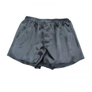 Jasmine Silk classique pour homme en soie boxers Noir - Noir - M de la marque JASMINE SILK image 0 produit