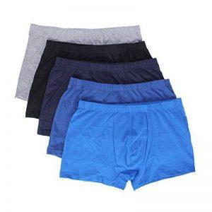 JUDY Garçon Hommes Boxer Hipster Premium riches en coton, Sous vêtements pour Hommes - Lot de 5 de la marque JUDY image 0 produit