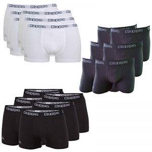 Kappa–Boxer homme ziatec Edition–Caleçon sous-vêtement–pour Hommes–S–4x l, Couleur: Blanc, Taille: 4X L Lot de 3 de la marque Kappa image 0 produit