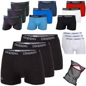 Kappa Boxer ziatec Edition avec filet de 3pratique, 6et 9Packs Noir, Blanc, Gris de la marque Kappa image 0 produit